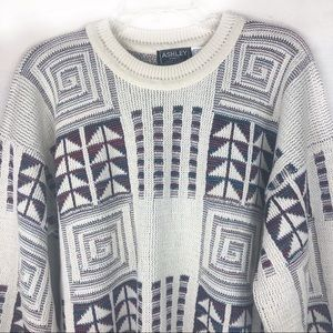 NWOT-Vintage80s Ashley Knit Unisex PulloverSweater